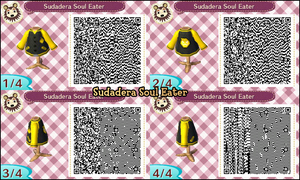QR CODE ACNL: Sudadera Soul Eater by One-Eco