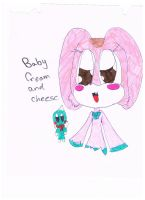 baby cream and cheese by Blazelover600
