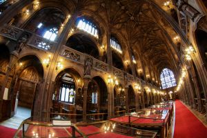 John Rylands Library Main Hall by karla-chan