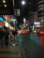 The streets of Toronto by EccentricArrow