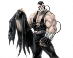 Batman Rogues Gallery- Bane by thedarkcloak