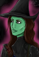 Elphaba by Michiko-laughs