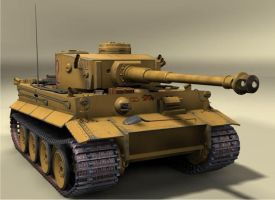 Tiger Tank 1 by squadristiPNF