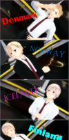 Axis Powers PROMtalia [NORDICS EDITION] by SomeoneCoolerThanYou
