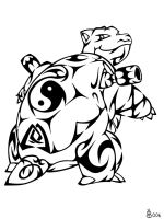 #009: Tribal Blastoise