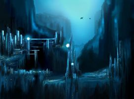 Blue City by Timbyra