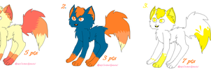 Point adoptables - cats 3 by RoxyCockerSpaniel