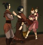 Kyoshi Warriors in trouble 1 by Malasorte504