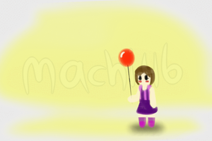 Balloon GIF Part 1 by AnMachi