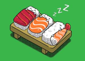 Threadless Design: Sushi by BenjaminAng