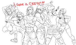 I have a crew by ASAMESHII