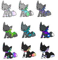 Adoptables 5 points just take them omg :CLOSED: by misconceiving