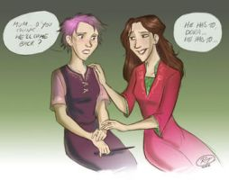Tonks' fears_DH spoiler by roby-boh