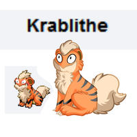 A Wild Krablithe Appeared by xTechnologiic