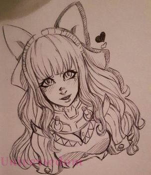Charlotte Doodle by Universedom