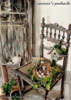 Chaise/Chair by Sadness40