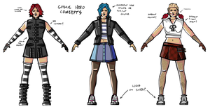 Gothic Hero Concepts #2 by rittie145