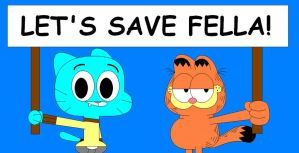 Let's save fella! by claudinei230