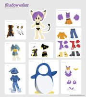 SW Paper Doll by Dygee
