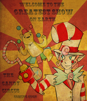 Candy Circus Poster by ColonelCheru