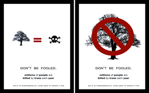 Anti-Tree Campaign by XxAcGXx