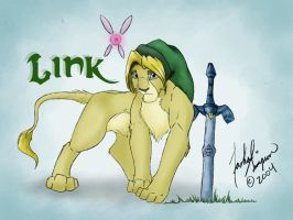 Link Lion by Tashababy