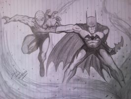 The bat and the spider! by D-Architect