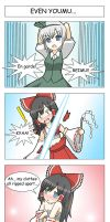 Get A Life,Reimu Pg11A Colored by LunarisFuryAileron