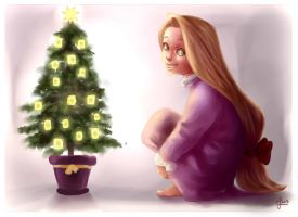 Christmas lights by Lilielle