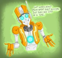 Encouraging Rung by candlehat