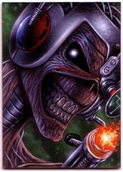 ACEO Iron Maiden SIT card... by taplegion