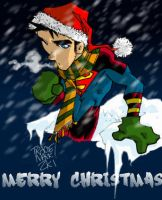 Superboy's Broody Christmas by Maukingbird
