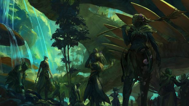 Guild Wars 2 The Grove by Artfall