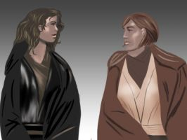 SW - Annie and Obe-Wanda by ShrunkenJedi