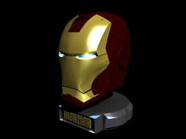 Iron Man Helmet by GroudonMan