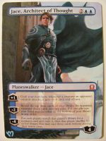 Mtg Altered: Jace Architect of Thought by OhMaiAlters