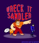 Wreck it Sandler by Kenjamin-Art-Design