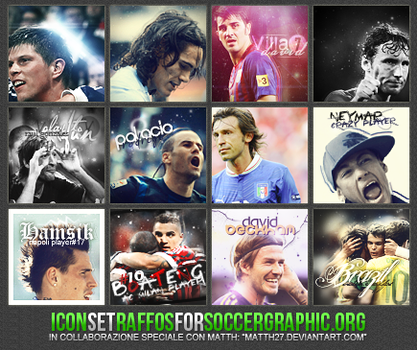 IconSet for SoccerGraphic.org by RaffosSG