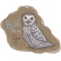 Blue The Owl by DaggarHeart