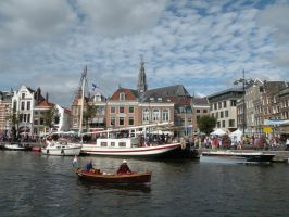 View over 't Spaarne by remmy77