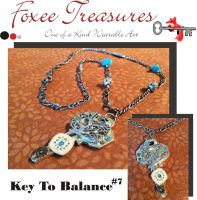 Key To Balance(Sold) by FoxeeTreasures