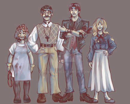 Familie Braun by mollusking