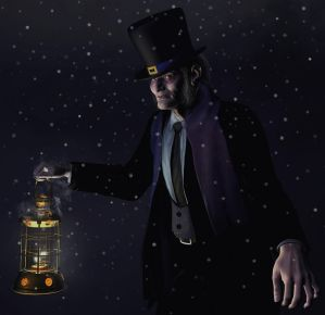 Scrooge by xmas-kitty