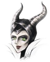 Maleficent by wickedz