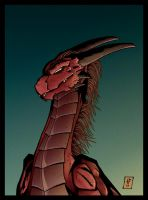 Red Dragon by dragonglory