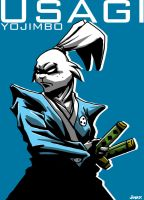Usagi Yojimbo by jinkyjsn