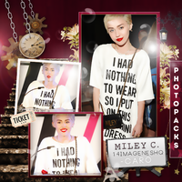 Miley Cyrus Photopack by rockwithmebaby