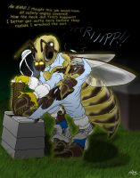 The Honeybeekeeper by Pheagle-Adler