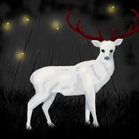 White Stag of the Mississippi Valley by Rix-Rhea