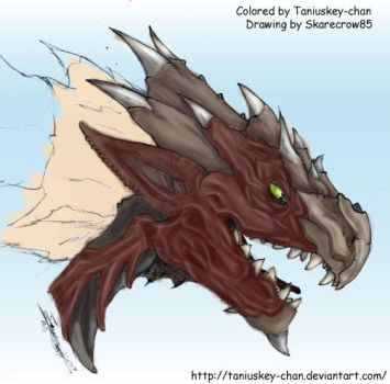 Rathalos by Taniuskey-chan